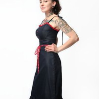 Steady Heart Throb Dress - Indigo - Punk.com
