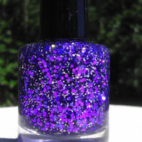 Shrinking Violet Hand made custom nail polish