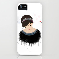 ONE SWEET GIRL iPhone Case by Nika  | Society6