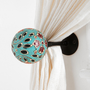 Hand-Painted Curtain Tie-Back