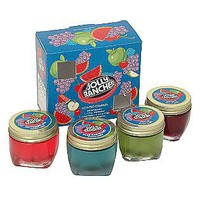 Hanna's Candles  Jolly Rancher 4 Pack Gel Scented Candle Set
