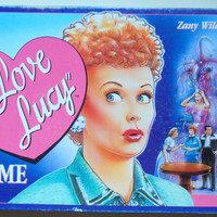 Vintage The I Love Lucy Board Game 1990