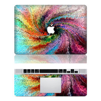 Spirally--Macbook Cover Protector Decal Laptop Art Sticker Skin Mabook Skin for Apple Macbook Pro/ Macbook Air/ipad 2