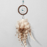 Dreamcatcher Feather Necklace | Silver Boho Necklace | fredflare.com
