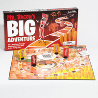 Mr. Bacon's Big Adventure Game | Bacon Board Game | fredflare.com