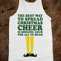 Christmas Cheer (Elf Quote Tank)