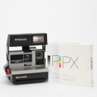 UrbanOutfitters.com &gt; Vintage Polaroid 600 Camera Kit by Impossible Project