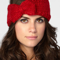 Knit Headband With Bow | San Diego Hat Co | fredflare.com