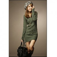 Multifunctional and Decent Rove V-neck Long Sleeves Sweater China Wholesale - Sammydress.com