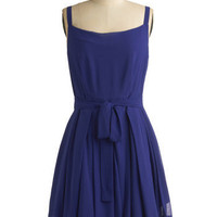 In Grape Demand Dress | Mod Retro Vintage Printed Dresses | ModCloth.com
