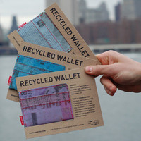 The Upcycled Wallet: Original by Holstee | HOLSTEE
