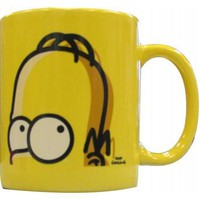 ROCKWORLDEAST - The Simpsons, Coffee Mug, Homer Head