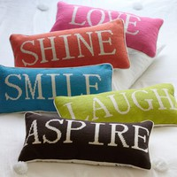 Word Pillow Collection | PBteen