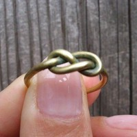 Infinity Ring Tibetan Bronze Knot Ring 888cents 888888888888888888888888888888888