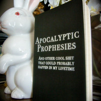 Apocalyptic Musings Moleskine Notebook by sabletoothtiger on Etsy