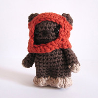 Ewok inspired amigurumi. Star Wars Softy. Star wars plush