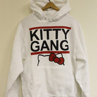 Kitty Gang Hoody | fresh-tops.com