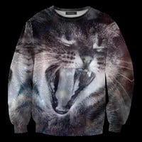 Mr. GUGU & Miss GO :: OUTERWEAR :: Galaxy Cat Sweater