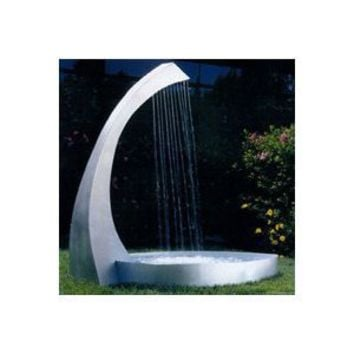 Amazon.com: Nayer Kazemi Water Harp Floor Fountain: Patio, Lawn & Garden