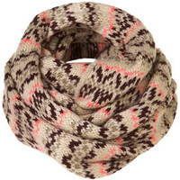 Fairisle Snood - Winter Accessories  - Accessories