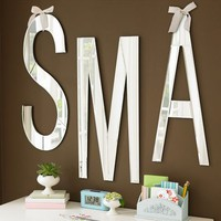Mirrored Wall Letters | PBteen