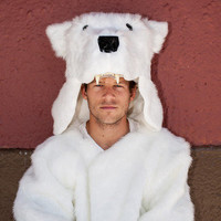 Griz Coat - Polar Bear Edition by Buffoonery Factory LLC | Griz Coat
