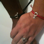 Set of 2 His and Hers Sex Symbols Stack Bracelets
