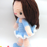 Pdf Bella Ballerena Girl Amigurumi .. on Luulla