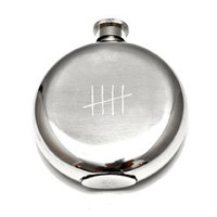 Tick Marks Flask