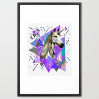 ACID WAVVES Framed Art Print by Kris Tate | Society6