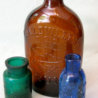 Bottles Vintage Rum and Perfume Instant by ToucheVintage on Etsy