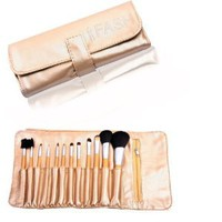 Amazon.com: FASH Professional makeup Brush Set,12 pc, For Eye Shadow, Blush, Eyeliner,eyebrow....: Beauty