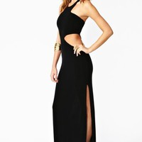 Moonshadow Maxi Dress - Black