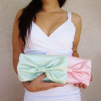 Pastel Bow Clutch from Love What's Missing