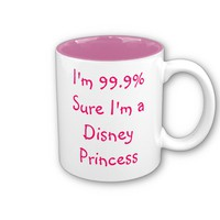 Custom Text Mug A Certain Real Princess from Zazzle.com
