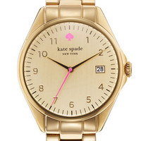 kate spade new york 'seaport grand' bracelet watch