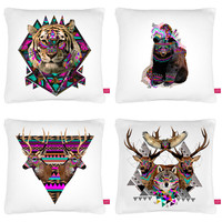 Street Market — Ohh Deer - Cushion Set By Kris Tate