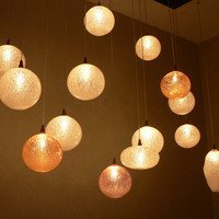 Glass blowing lighting Art custom Design own by LightingDesign