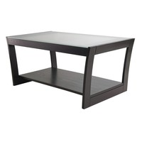 Winsome Wood 92042 Radius Coffee Table, Dark Espresso - Home Furniture Showroom