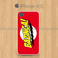 Bazinga Big Bang Theory IPhone 4 IP.. on Luulla
