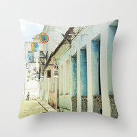 Salvador noon Throw Pillow by inourgardentoo | Society6