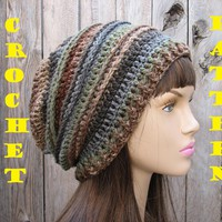 CROCHET PATTERN!!! Crochet Hat - Sl.. on Luulla