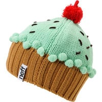Neff Mint Cupcake Beanie