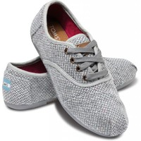 Grey Harper Women&#x27;s Cordones | TOMS.com