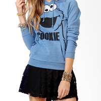Cookie Monster Pullover Hoodie