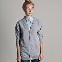 Frisur Clothing Frieda Girls Cardigan (light grey) | selekkt.com