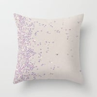 Glitter Is My Favorite Color (photo of glitter) Throw Pillow by Galaxy Eyes | Society6