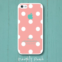 iPhone 5 Case - Peach Lady Bug