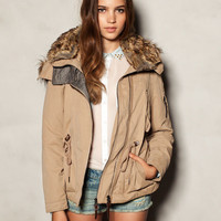 3/4 LENGTH MICROFIBRE PARKA - COATS - WOMAN -  France