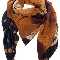 Pierre-Louis Mascia Patterned Scarf - Francis Ferent - farfetch.com